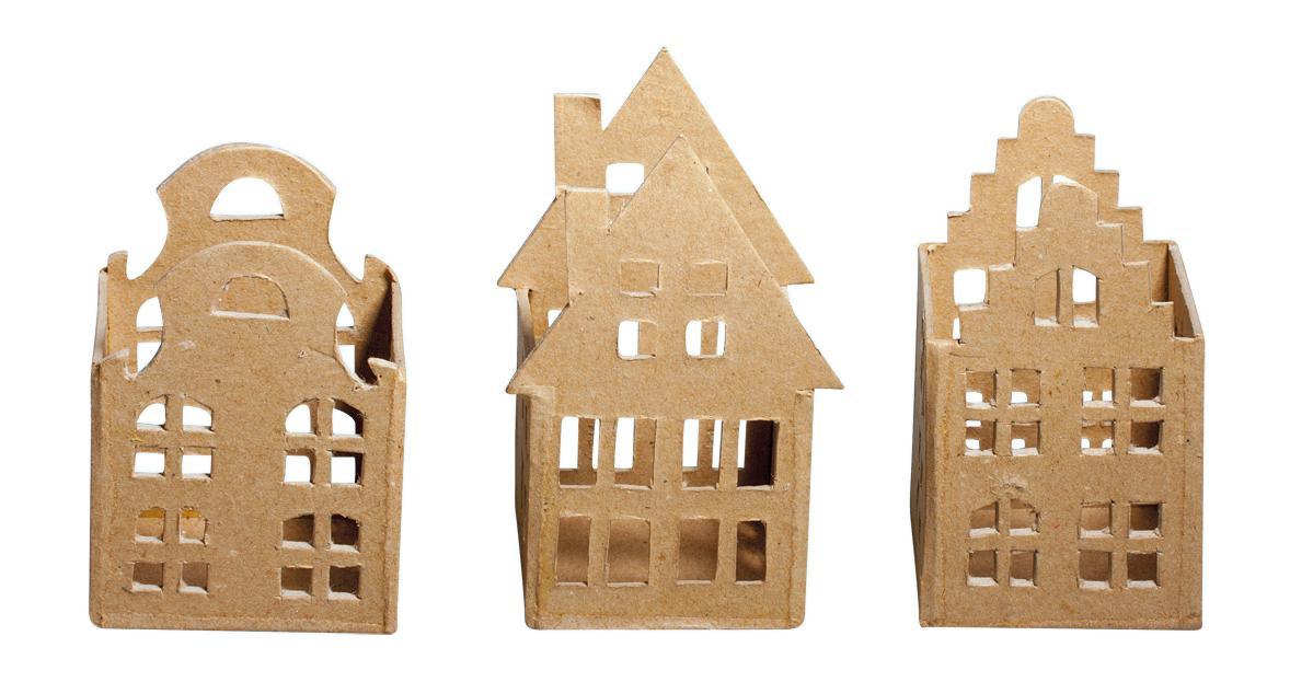 teelichth user pappmach holl ndische deko h user. Black Bedroom Furniture Sets. Home Design Ideas