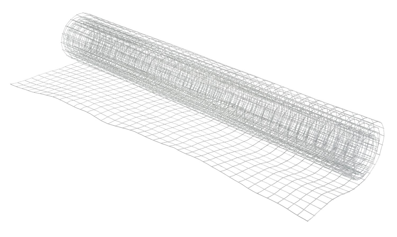 Drahtgitter, verzinkt, 13x13mm, 100x40cm, silbergrau | VBS Hobby ...