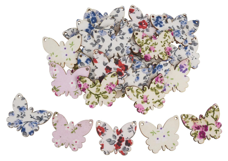 30 papillons en bois nature gros acheteurs vbs loisirs cr atifs vbs hobby. Black Bedroom Furniture Sets. Home Design Ideas