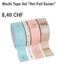 "Washi Tape Set ""Hot Foil Easter"""
