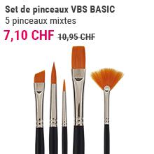 Set de pinceaux VBS BASIC
