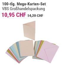Méga-set de cartes VBS, 100 pc.