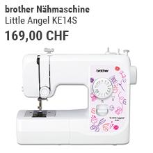 brother Nähmaschine Little Angel KE14S