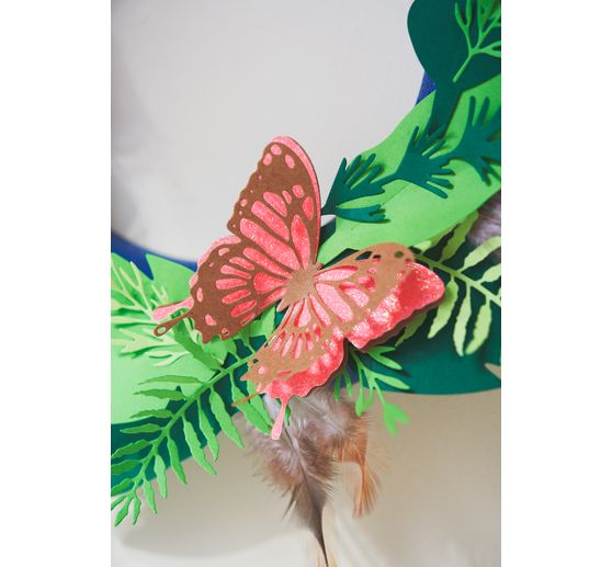 "Sizzix Thinlits Stanzschablone ""Intricate Wings"""