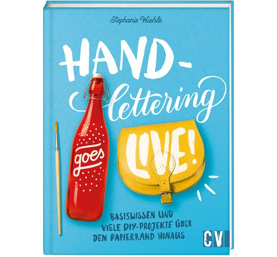 "Buch ""Handlettering goes live"""