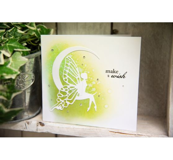 "Sizzix Thinlits Stanzschablone ""Fairy Moon by Jennifer Ogborn"""