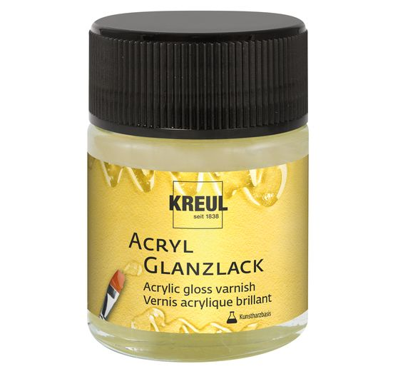 Vernis acrylique brillant KREUL, 50 ml