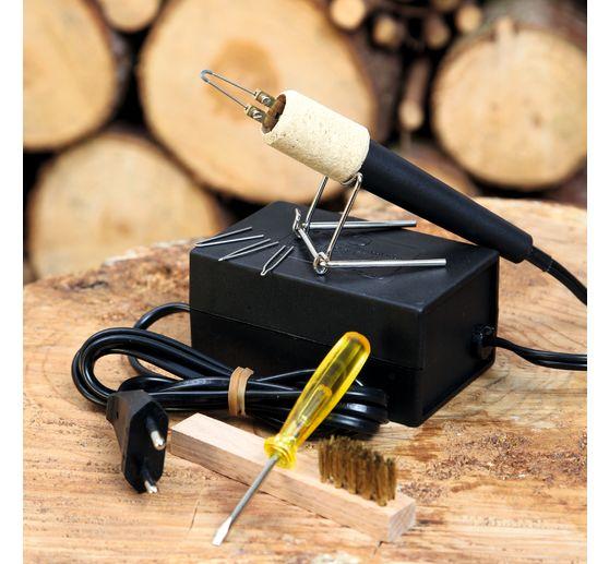 mini station de pyrogravure 20 watts loisirs cr atifs. Black Bedroom Furniture Sets. Home Design Ideas