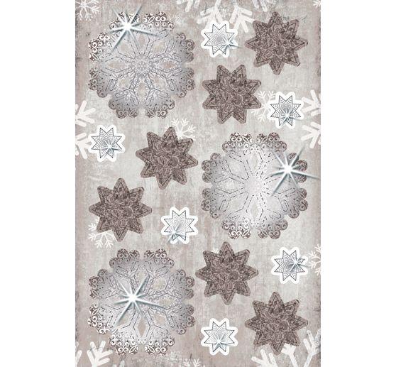 d coration en papier 3d flocons de neige 24 pc loisirs cr atifs vbs hobby. Black Bedroom Furniture Sets. Home Design Ideas