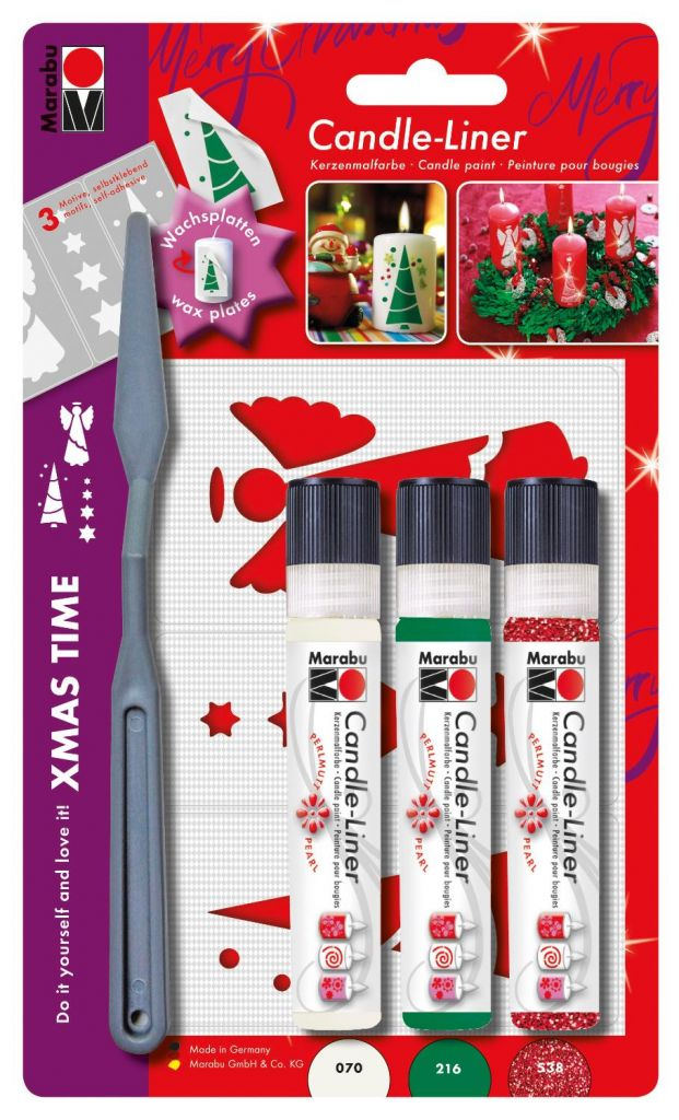 Image of Candle Liner-Set ´´X-Mas´´